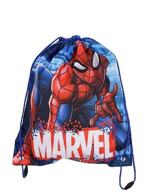 Sac de piscine 'Spider-Man'                             bleu/rouge