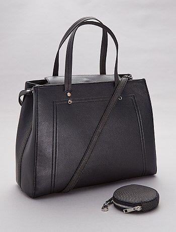 f245bf7b8f829 Soldes sac à main femme - pochette, cabas | Kiabi