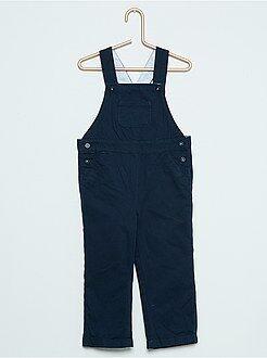 Pantalon, jean, legging - Salopette en twill doublé