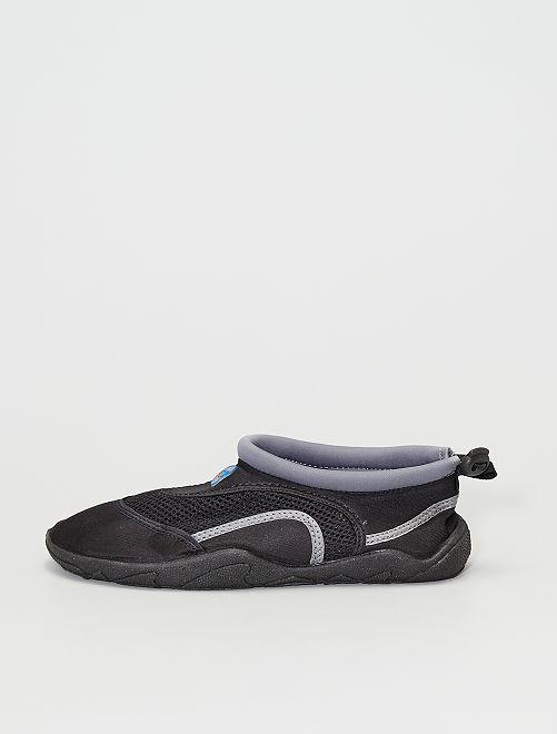 Sandales d'eau en néoprène                                         gris
