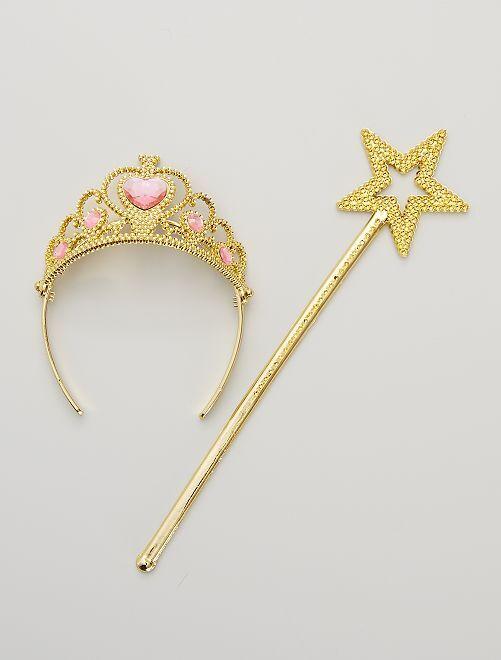 Set de princesse                                          doré