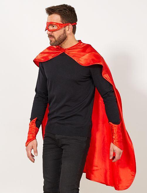 Set de super héros                                         rouge Homme
