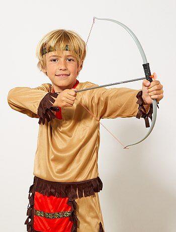 Set indien arc à flèches et couteau - Kiabi
