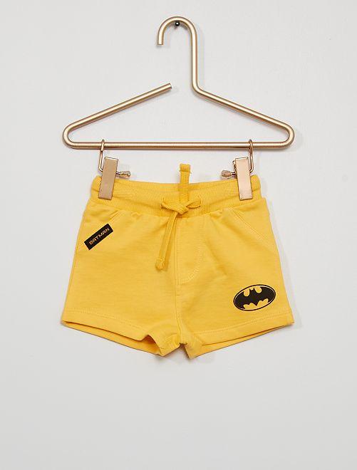 Short 'Batman' éco-conçu                                         jaune