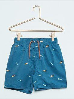 Short de bain brodé 'requins'