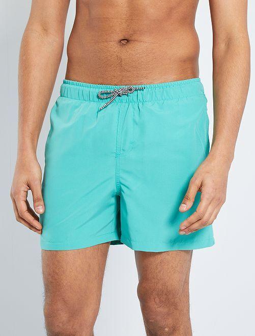 Short de bain éco-conçu                                                                             turquoise
