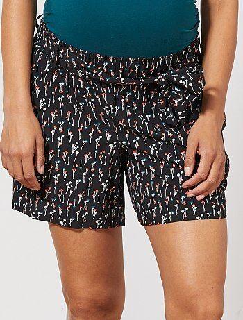 f263d0611d Soldes pantacourt et short de grossesse : des vêtements tendance ...