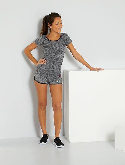 Short de sport                                         gris