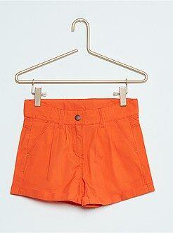 Short, combishort - Short droit en coton
