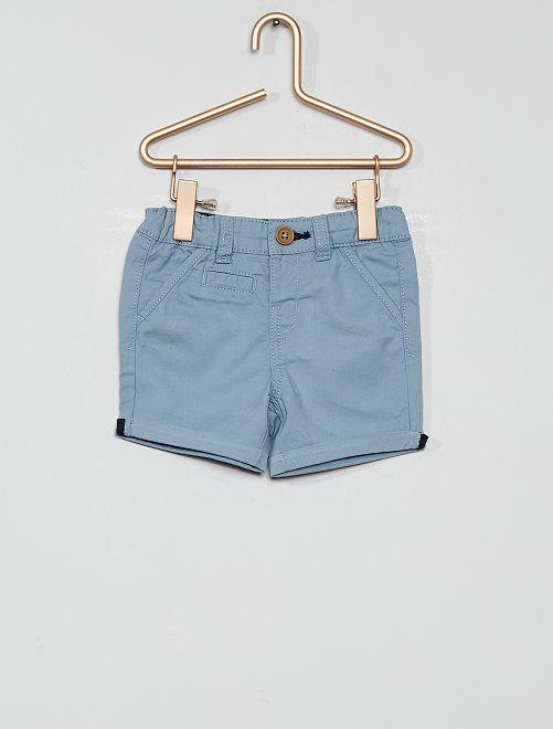 Short éco-conçu                                                                                                                             gris bleu