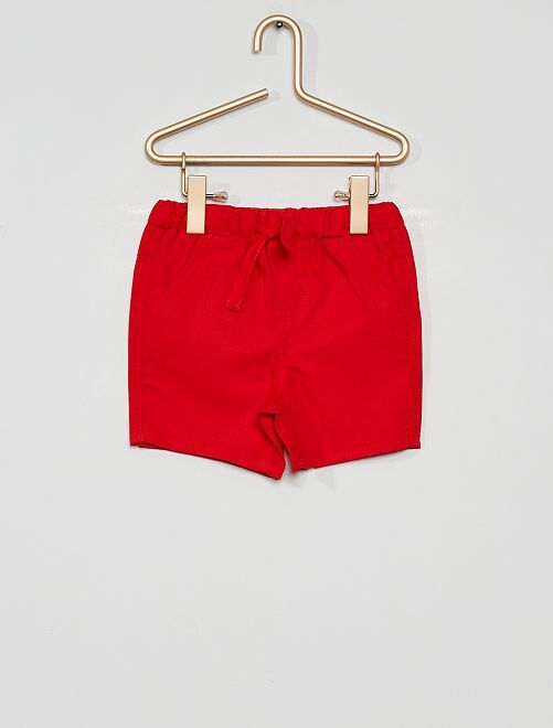 Short éco-conçu                                                                             rouge