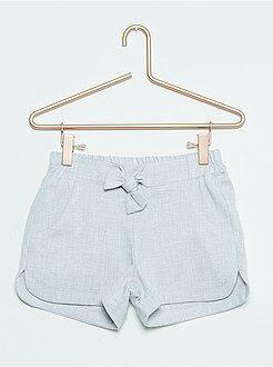 Short, pantacourt - Short en coton