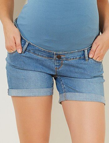 Short en denim de grossesse - Kiabi