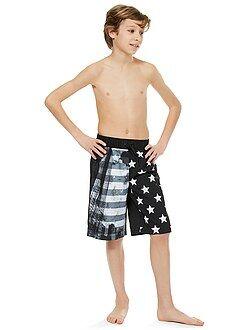 Garçon 3-12 ans Short long de bain