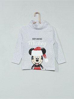 Tee shirt, polo - Sous-pull de noël 'Mickey'