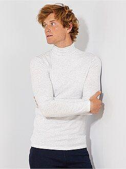 Homme du S au XXL - Sous-pull fitted en jersey - Kiabi