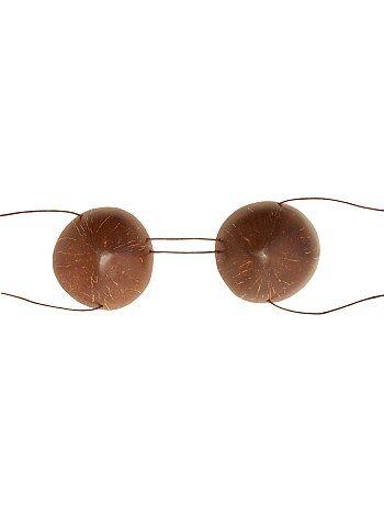 Accessoires - Soutien-gorge noix de coco - Kiabi