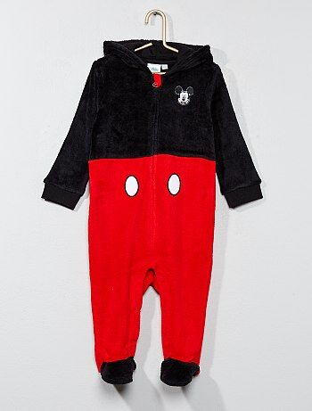 Surpyjama en peluche 'Mickey' - Kiabi