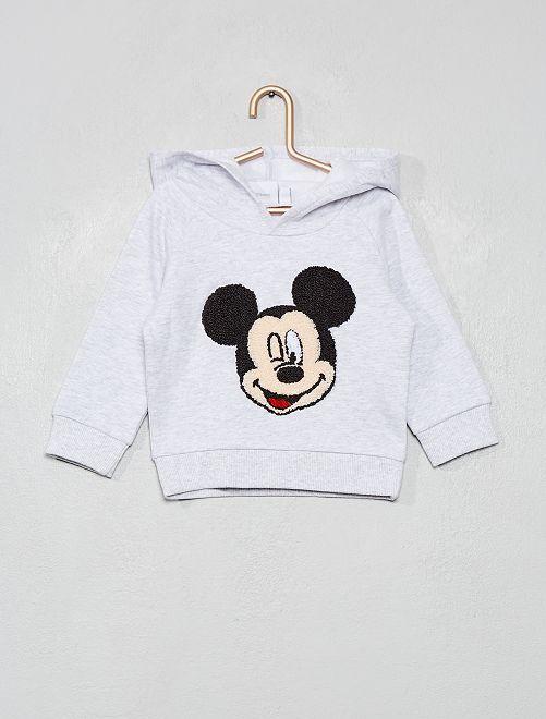 Sweat à capuche 'Mickey'                     gris