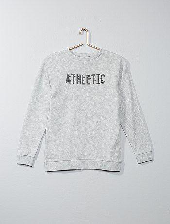 Sweat en molleton 'athletic' - Kiabi