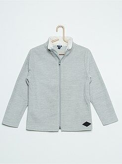 Sweat - Sweat polaire col montant