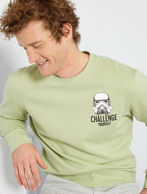 Sweat 'Star Wars' éco-conçu                             vert