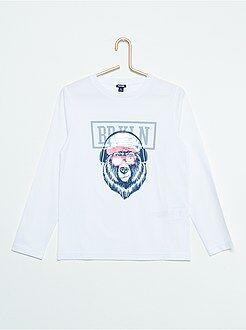 Tee shirt, polo - T-shirt à sequins réversibles