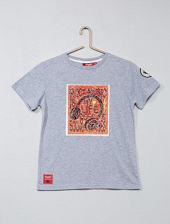 T-shirt à sequins réversibles 'rock' - Kiabi
