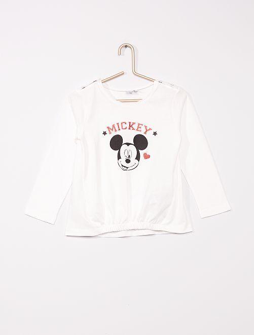 T-shirt adapté 'Minnie'                             blanc