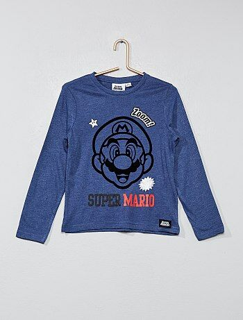 T-shirt animé 'Super Mario' - Kiabi