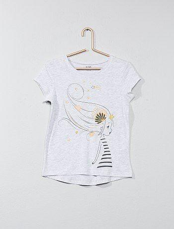T-shirt avec animation - Kiabi