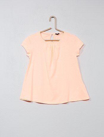 T-shirt coton stretch - Kiabi