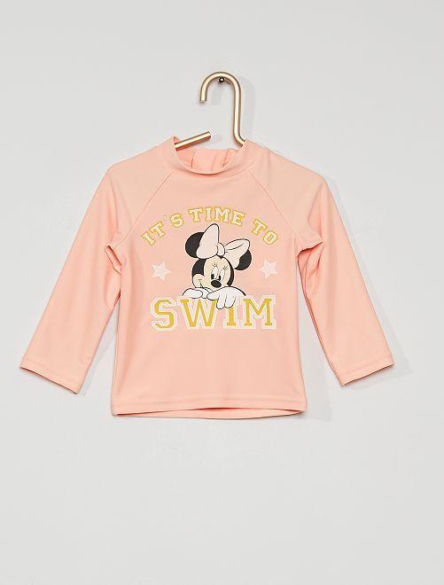 T-shirt de bain anti UV                                         rose