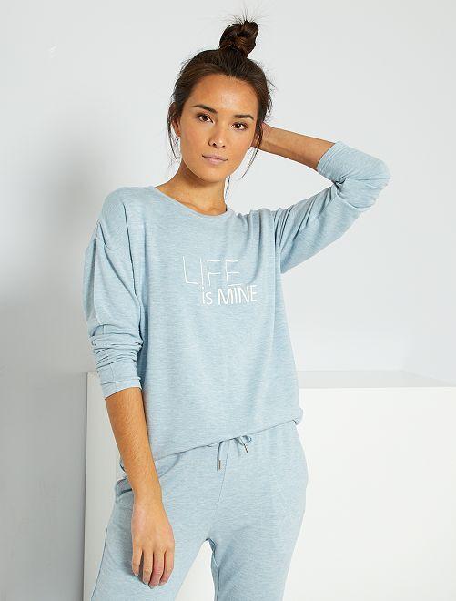 T-shirt de sport                                                     bleu gris