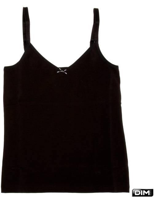 T-shirt 'Dim'                                          noir Fille adolescente