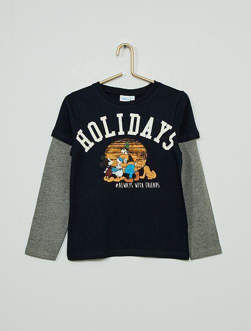 T-shirt 'Disney'                             bleu marine/gris
