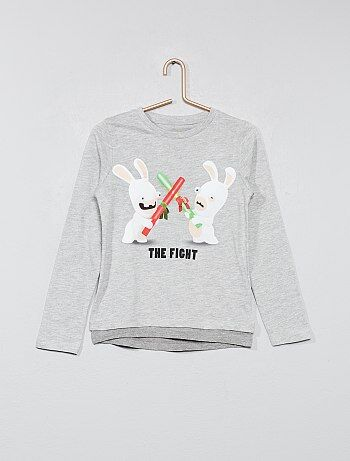 T-shirt double base 'Les lapins crétins' - Kiabi