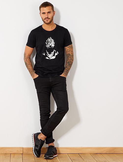 T-shirt 'Dragon Ball Z' noir Homme