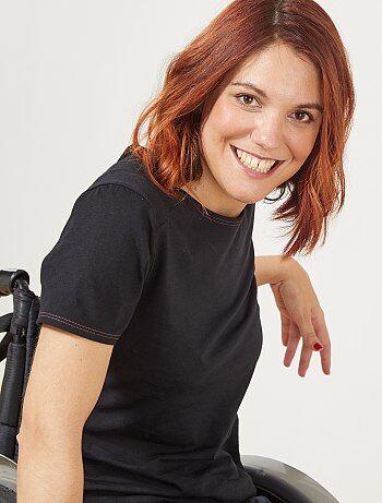 Femme du 34 au 48 - T-shirt droit 'A&K Classics' - Kiabi