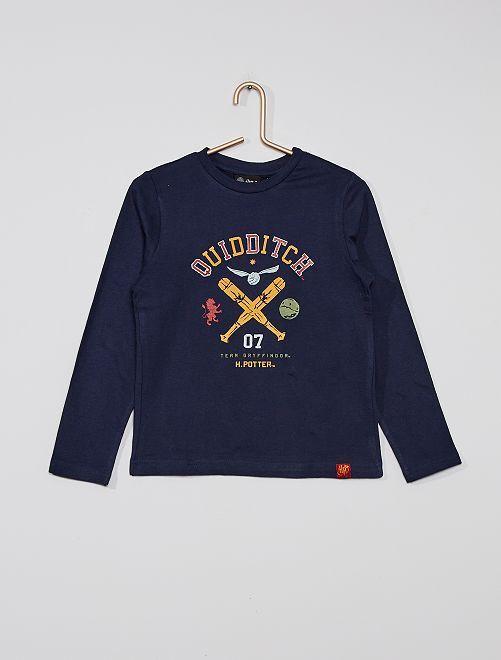 T-shirt 'Harry Potter'                             bleu