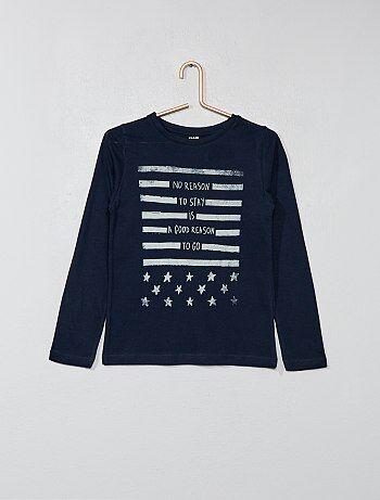 T-shirt imprimé à l'avant - Kiabi
