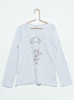 T-shirt imprimé 'Balançoire dans les nuages'