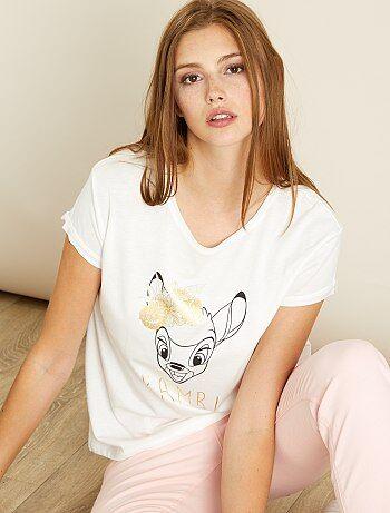 T-shirt imprimé 'Bambi' - Kiabi