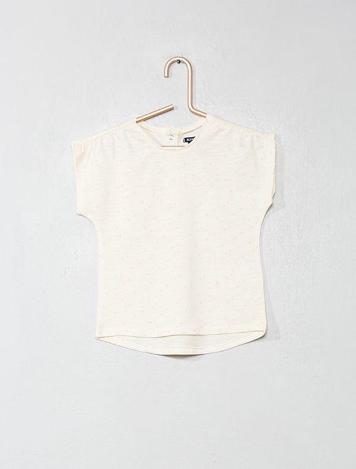 T-shirt imprimé                     écru Bébé fille