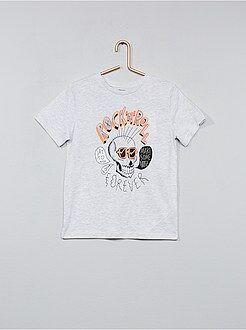 Tee shirt, polo - T-shirt imprimé fantaisie - Kiabi