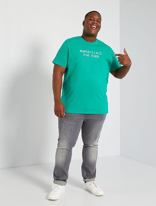 T-shirt imprimé Marseille                                                     vert