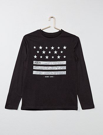 Garçon 10-18 ans - T-shirt imprimé - Kiabi