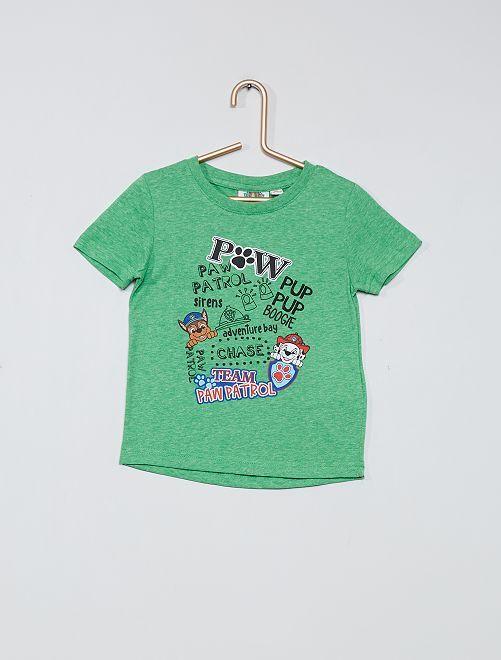 T-shirt imprimé 'Pat' Patrouille'                             vert