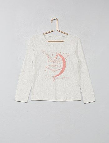T-shirt imprimé pur coton - Kiabi