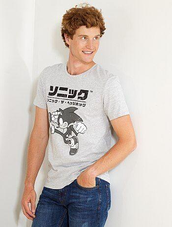 T-shirt imprimé 'Sonic' - Kiabi